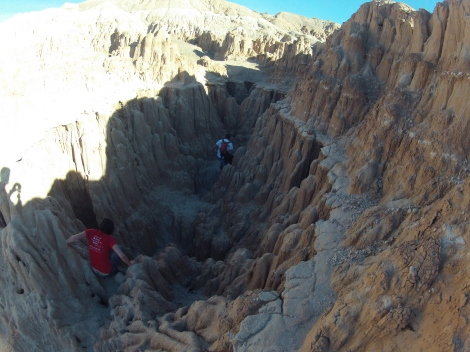 On top of Cathedral Caves