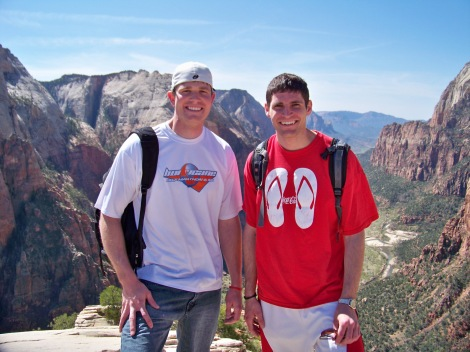 On Angels Landing