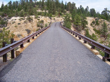 Hells backbone bridge