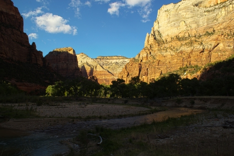 river walk zion